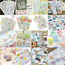 DIY Craft Calendar Scrapbook Album Diary Book Decor Planner Paper Stickers Set