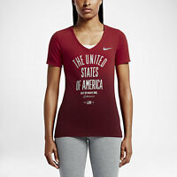 Nike Women's Olympic Team USA Star Out Of Many One T Shirt  Save 40%!!   Small