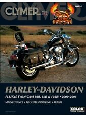 CLYMER SERVICE MANUAL M423-2 HARLEY SOFTAIL FLSTFI FAT BOY FI 2003 2004 2005
