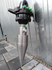 Baggerspalter Kegelspalter Holzspalter mit 3T Rotator (900 NM) Kegel 120x450 mm