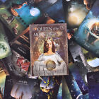 44PCS Queen Of The Moon Oracle Cards English Version Board Game Tarot Cards Gift