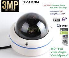 Outdoor 1080P 3.0 Megapixel Panorama View 180/360 Degree Panoramic PoE IP Camera