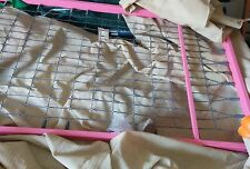 Girls pink tubular single bed frame