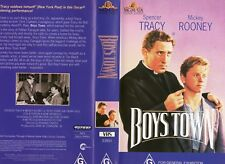 BOYS TOWN - Spencer Tracy -VHS - PAL - NEW - Never played! - Original Oz release