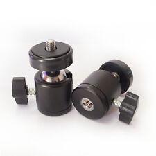 Mini Kamera Stativköpfe Kugelkopf Kugelgelenk 1/4'' Ballhead für Tripod DSLR Neu