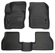 Husky WeatherBeater for 2017-2018 Ford Focus ST Front / Rear Floor Liner 99771