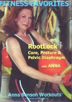 FITNESS FAVORITES ROOTLOCK ANNA BENSON DVD CORE POSTURE & PELVIC FLOOR WORKOUT