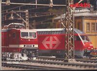 Märklin HO Technik erfahren Model Train Catalog Gesamtprogramm 1993/94