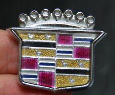 Cadillac crest metal emblem/badge/logo 20248001 (2 pin back)