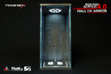 1/6 Toys Box Collectible TM032 Iron Man Led Light Up Clear Hall Of Armor 4.0