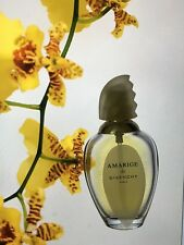 USED Lovely AMARIGE Givenchy edt  10 ml left spray women perfume