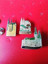 3 Pin's Pins Chartres