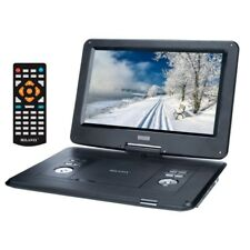 15'' Portable MULTI REGION CD/DVD Player, HD Widescreen W/ Rechargeable Battery