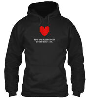 Undertale - You Are Filled With Determination Gildan Hoodie Sweatshirt