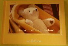 Buch zur Geburt * Glückwünsche Baby Glück Familie * neu Glückwunschbuch
