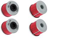 4 NEW K&N OIL FILTERS FOR THE 2004-2014 HONDA TRX450R TRX 450R 450ER FOUTRAX