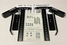 Complete Leggett & Platt Queen Size Headboard Mounting Brackets w/ Hardware Kit