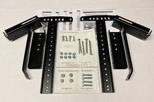 Complete Leggett & Platt Queen Size Headboard Mounting Brackets w/ Hardware Kit