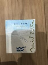 Montblanc limited edition ink Daniel Defoe Rare With Box Palm Green Ink