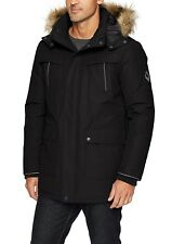 Alpine North  16 Men's Down Parka Coat  Black Size XL/TG  •