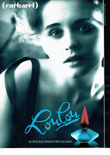 Publicité Advertising 018  1988  parfum Loulou de Cacharel  par Sarah Moon