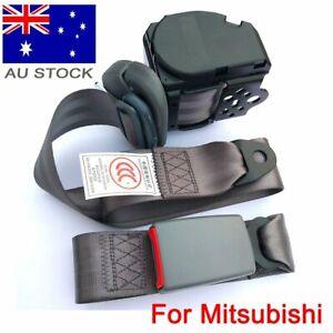 For Mitsubishi 3-Points Universal Safety Seat Belt Dark Gray Seatbelt Retractor