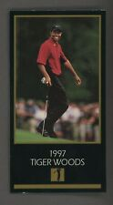 1998 Champions of Golf Masters Collection 1997 Tiger Woods RC Rookie