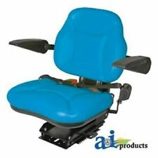 Bbs108bu Fits Ford New Holland Big Boy Seat With Armrests Blue Fits Many Model