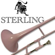 PINK Bb Tenor TROMBONE • High Quality • BRAND NEW • With Case •