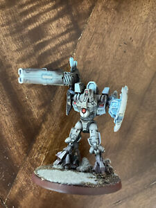 Warhammer 40k Tau Empire Tau'nar Army Converted and Painted Battlesuit !!!
