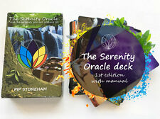 THE SERENITY ORACLE WITH FREE PENDULUM Wicca Pagan Witch Goth Life Coaching