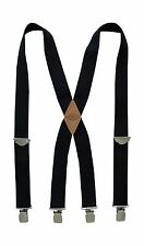 Dickies Men's 1-1/2 Solid Straight Clip Suspender Navy One Size Free Shipping