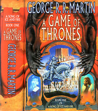 A Game of Thrones by George R.R. Martin UK Hardcover with Jim Burns DJ Art!