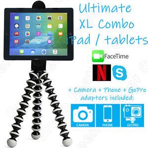 iGrip XL Flexible iPad Stand Tripod   Tablet Galaxy Kindle Surface eReader