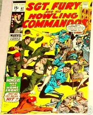SGT. FURY 82 SERGEANT 1963 SERIES & HIS HOWLING COMMANDOS NICK VF RARE