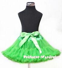 Dark Green FULL Tutu Skirt Dance Party Dress Girl Adult Women Lady