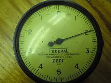 Packard Motor Car Co Dial Indicator .0001 (1/10,000) 3 1/2 face dia