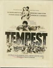 Silvana Mangano Van Heflin Tempest 1958 original vintage movie photo 19142
