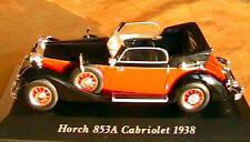 HORCH 853A CABRIOLET 1938 NEUVE SCALE 1/43 CLASSIQUE VOITURE MINIATURE ROADSTER