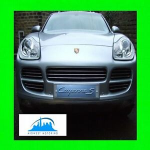 2003 2004 2005 2006 PORSCHE CAYENNE CHROME TRIM FOR GRILLE GRILL TURBO S