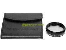 37mm. Filtro polarizzatore circolare Blackdove-cameras.  * NUOVO * Con custodia.