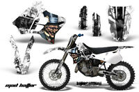 Dirt Bike Graphic Kit Decal Sticker Wrap For Yamaha YZ125 YZ250 93-95 HATTER K W