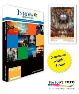 Innova FibaPrint White Matte 280gsm Inkjet paper A4/25 (IFA-39-A4-25)