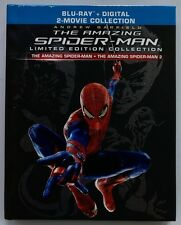 THE AMAZING SPIDER-MAN LIMITED EDITION COLLECTION 1 & 2 BLU RAY DIGIBOOK 3 DISC