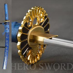 Hand Forged T1095 Carbon steel Wakizashi NEW Japanese samurai sword Combat Sharp
