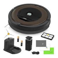 iRobot Roomba® 890 Wi-Fi® Connected Robot Vacuum + Extra Sidebrush Bundle