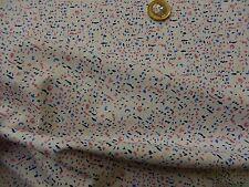 Art Gallery Fabrics Sketchbook speckled lapis dots dashes dressmaking half mt