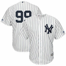 Mens NewYork Yankees Aaron Judge Majestic White Cool Base Player Rep Jersey -sm