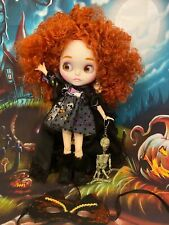 Halloween Babe Blythe ,Blythe Doll Dressed w. All Access Plus Stand , Icy Doll