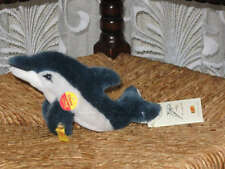 Steiff Germany Dolphin Clippy Delphin 15 047404 KFS Booklet